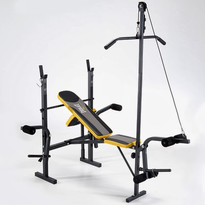 Pure fitness and sports new everlast weight benches Weight bench and weights