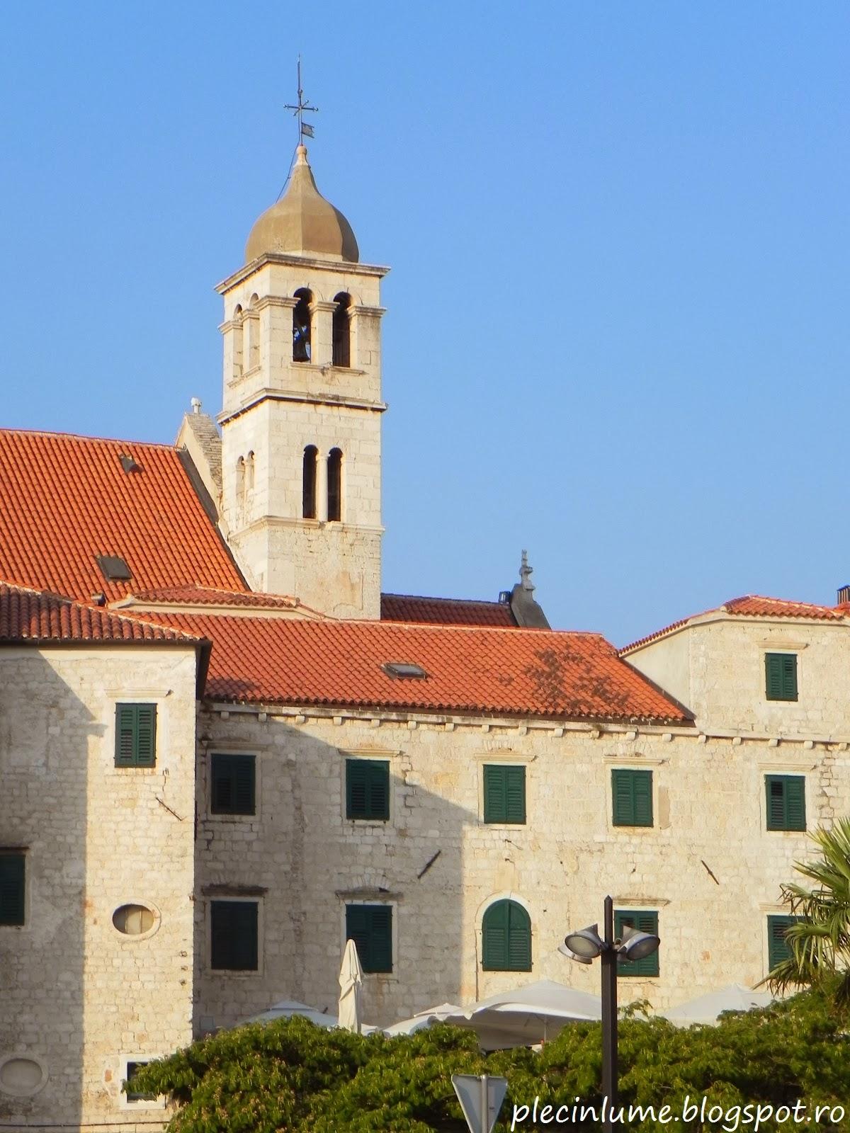 Priveliste din Sibenik, Croatia