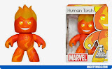 Human Torch Marvel Mighty Muggs Wave 4