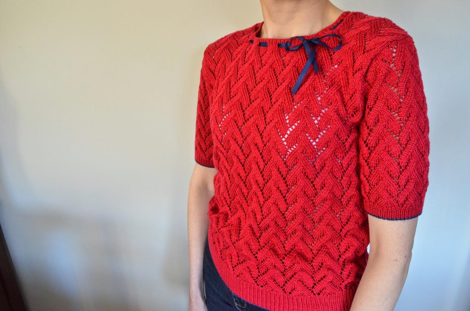 Rowan Knitting Patterns Errata : Patsy - Sarah Dallas (Rowan 32) Pattern Error Solution