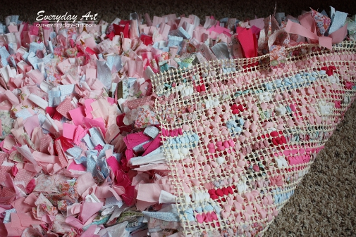 craftaholics anonymous® | how to make a rag rug tutorial