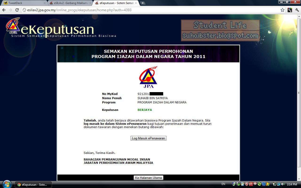 Denix Ng S Blog Program Ijazah Dalam Negara Pidn
