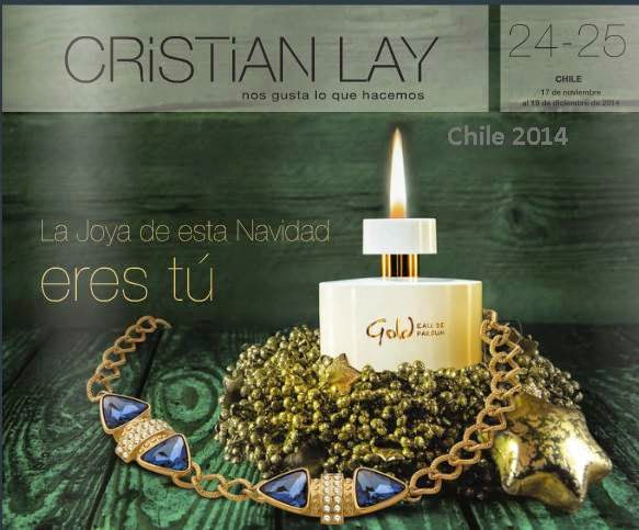 Catalogo Cristian Lay Campaña 24 y 25 2014 chile