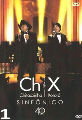 DVD Chitãozinho e Xororó - Sinfônico 1