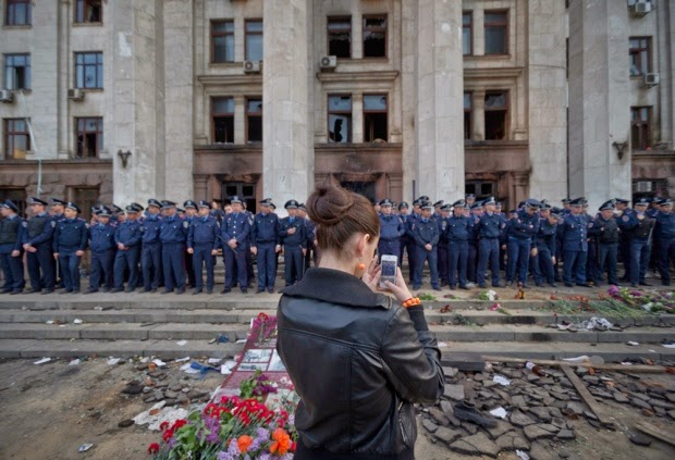 Military News - Ukrainian unrest spreads; dozens dead in Odessa