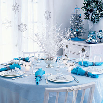 Down ruby lane christmas centrepiece inspiration White christmas centerpieces