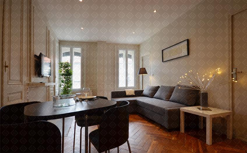 rive gauche r novation r novation d 39 un t2 de 35 m2 rue edouard herriot 69001 lyon. Black Bedroom Furniture Sets. Home Design Ideas