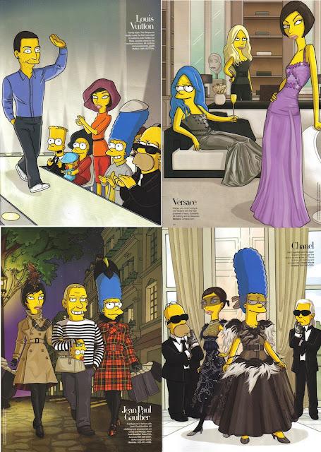 simpsons fashion week