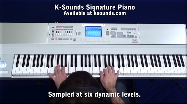 Amazing Piano from K-Sounds