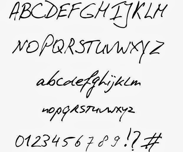 Handwriting fonts download hand writing