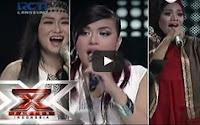NOVITA DEWI & DESY & ANGELA - PROBLEM (Ariana Grande) - Result & Reunion - X Factor Indonesia 2015