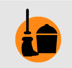 Clean Ktm logo