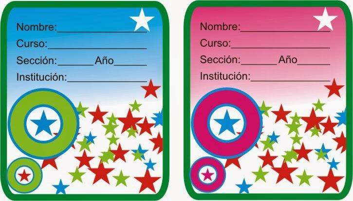 http://etiquetasparacuadernos.blogspot.com/2014/04/estrellas-y-circulos.html