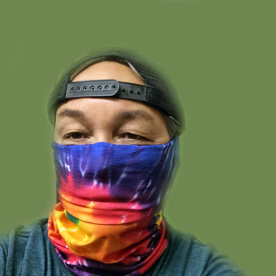Hippy-Hoo-Rag Face Mask!
