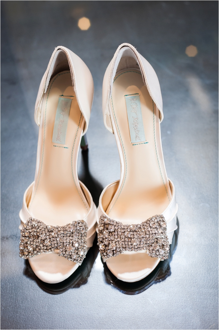 Sparkley Wedding Shoes