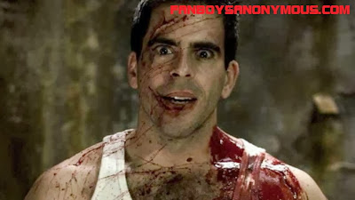 bloody director Eli Roth is a basterd