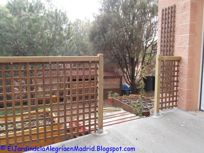 Celosias de madera para jardin latest celosias palos en Celosia para jardin