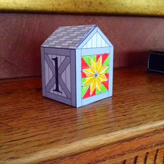 The Barn Quilt Advent Calendar