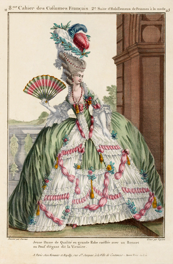 The Naughty Side of 18th Century French Fashions