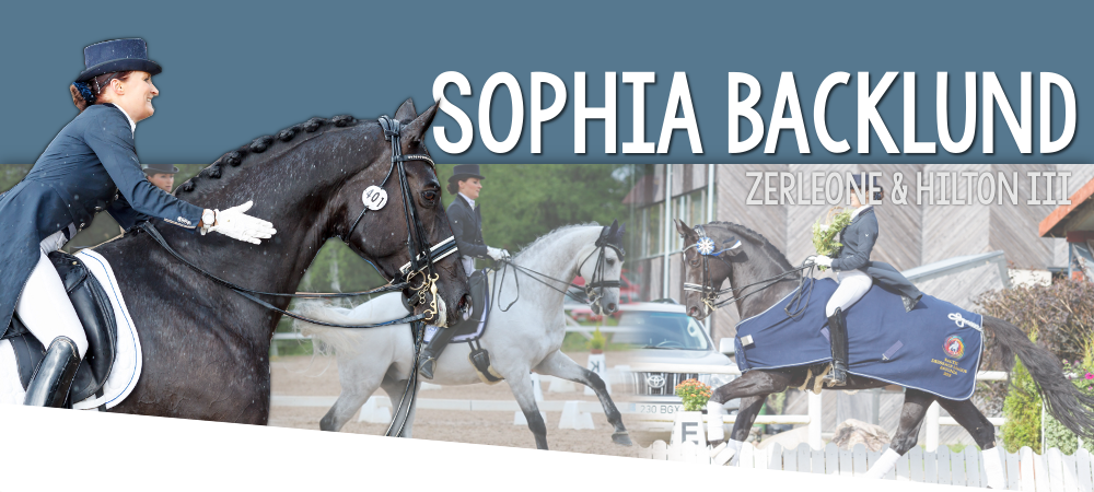 Sophia Backlund - SB Dressage Ab Oy