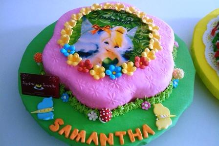 Tortas Bianca: Torta de Campanita Tinkerbell Y Gelatina