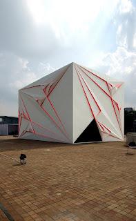 origami buildings