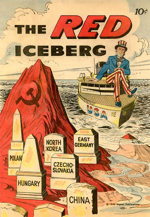 The Red Iceber, Anti-Communist Propoganda Mcarthyism