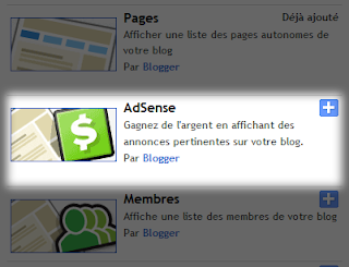 Afficher la pub Adsense dans  votre Blog blogger