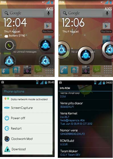 Ultimate Super Sonic ROM v5 (u.s.s.r v5) for Samsung Galaxy Y GT-S5360