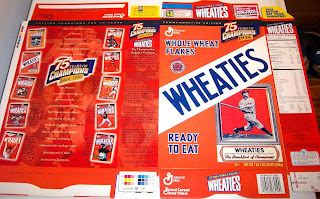 1995 Cal Ripken Jr  Wheaties Cereal Box unused factory Flat bp401