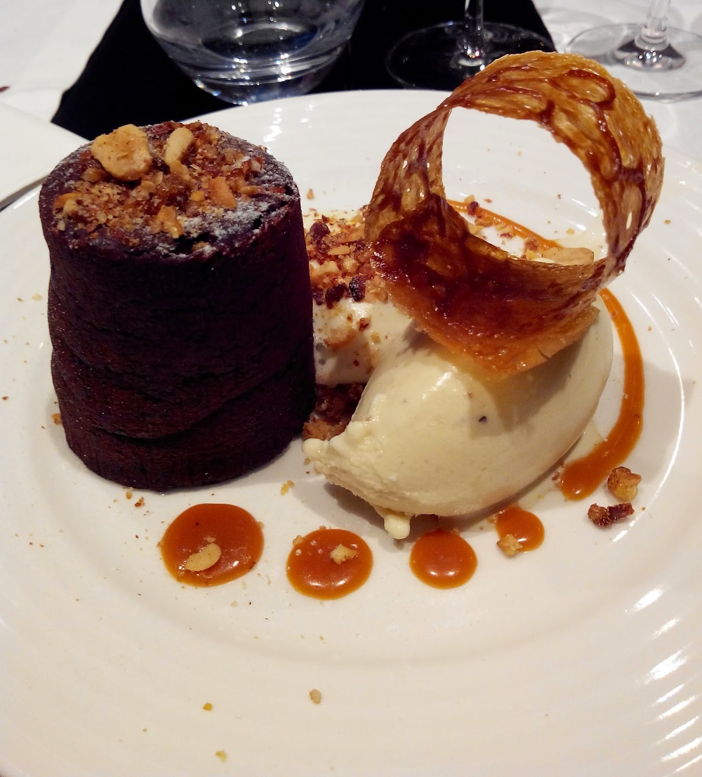 moelleux chocolat, glace, la raffinerie, Nantes, bullelodie
