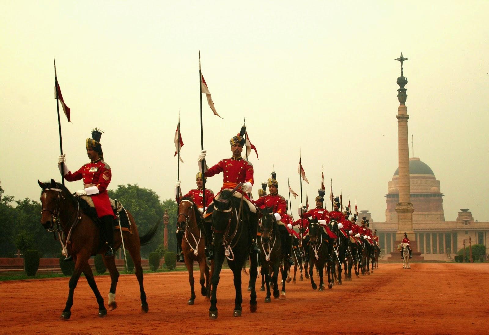Cambio de guardia India Nueva Dheli