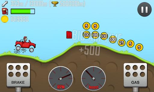 لعبة Hill Climb Racing تسلق الجبال بالسيارات للاندرويد