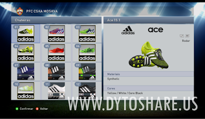 PES 2015 PTE Patch 7.0 + Fix