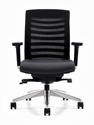 Global Arti Series Ergonomic Mesh Back Chair