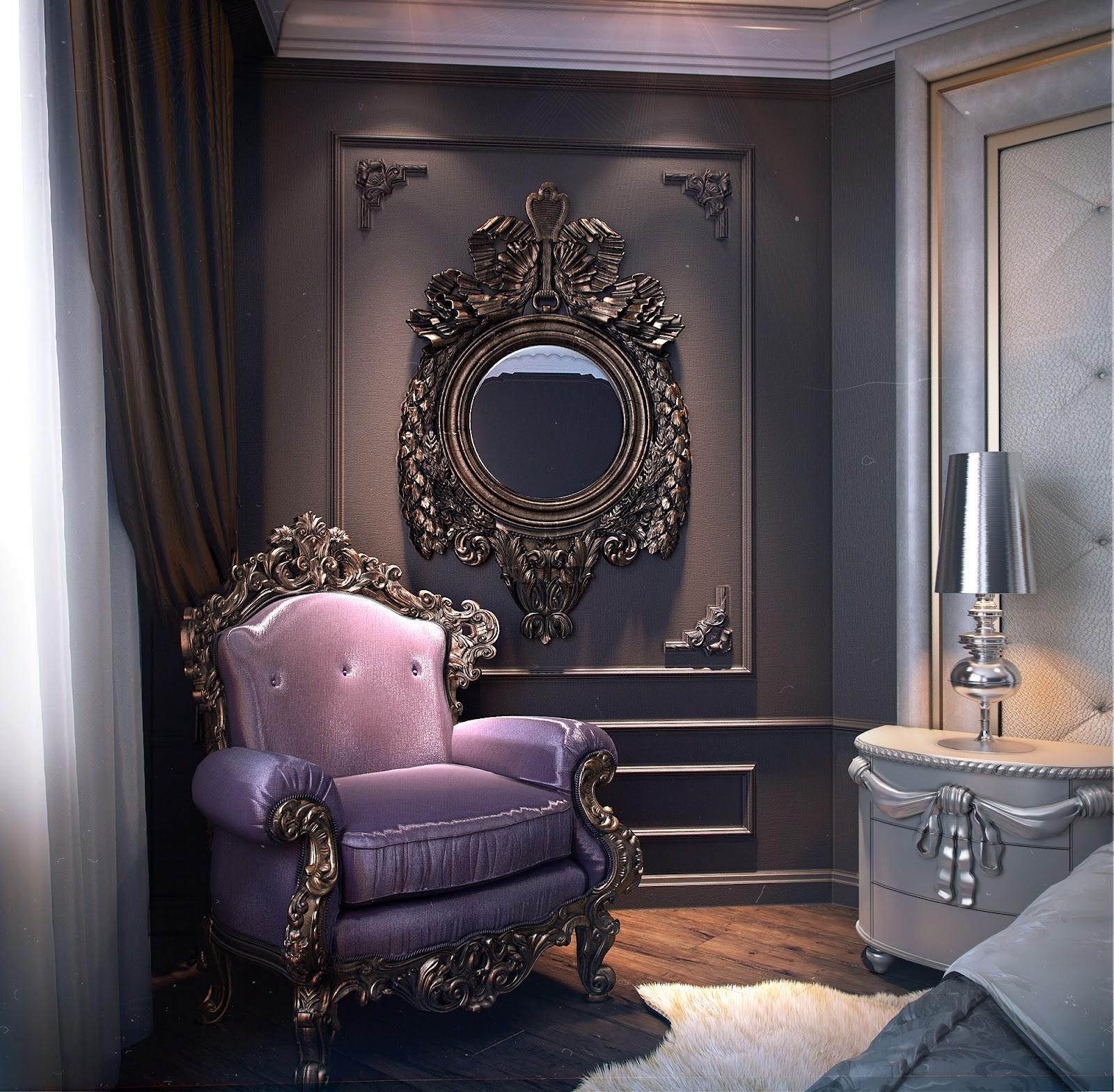 3d visualization and design for Arredamento gotico