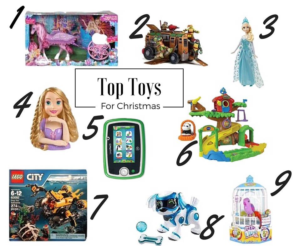 Top 5 Toys For Christmas : Top toys for christmas with give as you live hollybobb s