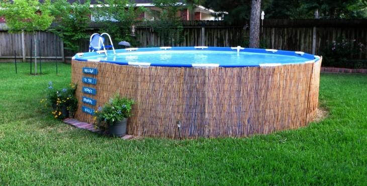 Ingeniando como hacer una piscina casera muy facil y for Como hacer una piscina