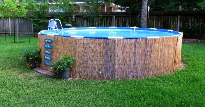 Ingeniando como hacer una piscina casera muy facil y for Como construir una piscina economica