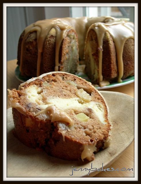 Apple Cream Cheese Bundt Cake - Cook'n is Fun - Food Recipes, Dessert ...