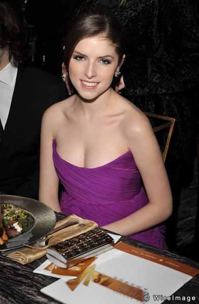 Anna Kendrick Pretty in Red Dress