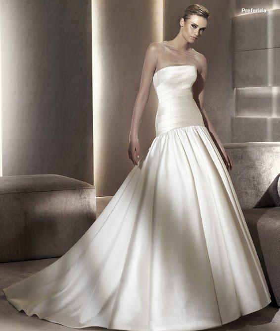 todo sobre bodas: vestido de novia preferida pronovias 2012 manuel mota