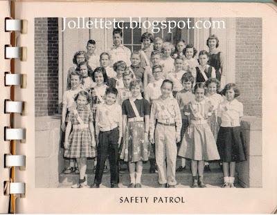 Safety Patrol Cradock Junior High 1956  http://jollettetc.blogspot.com