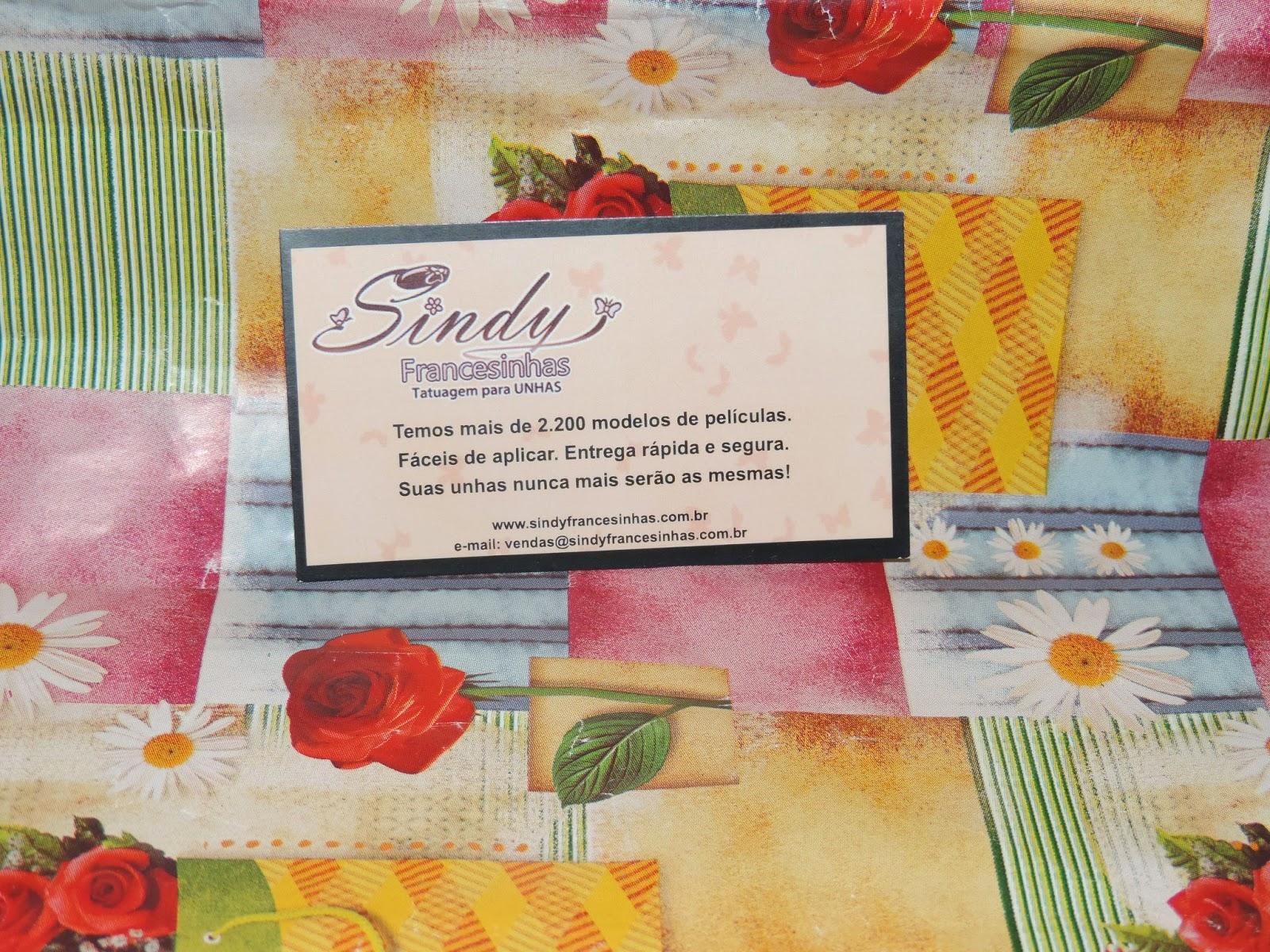 Resenha: Adesivos  da Sindy Francesinha