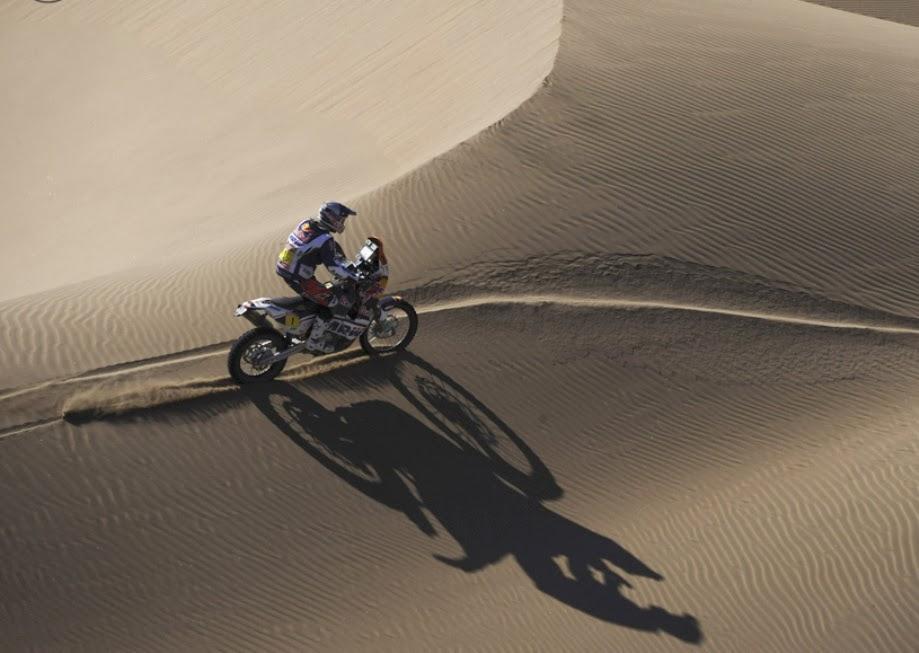Motos en el desierto dakar