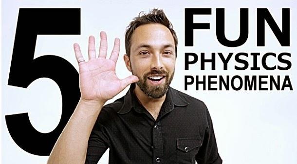 5 divertidos fenómenos da física (com video)