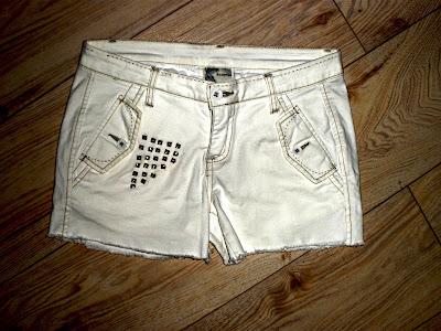 Studded shorts