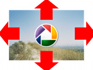 How To Resize And Edit Images On Blogger & Picasa