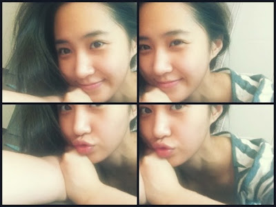 [PICTURE] SNSD Yuri UFO Photo Selca Update