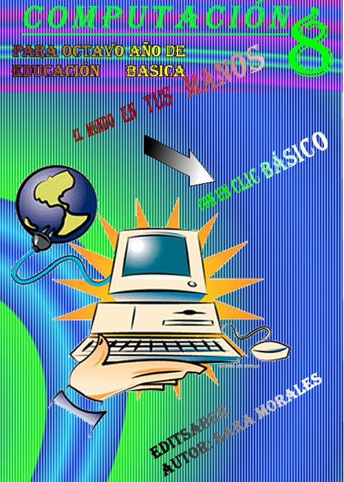 Sarita Morales: Carátula para un libro de computación